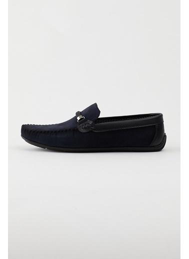 Tonny Black Lacivert Siyah Erkek Loafer Ayakkabı Tb103 Lacivert